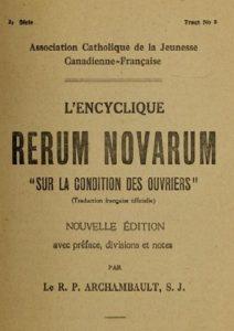 Rerum Novarum- Internet Archive
