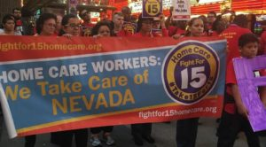 Fight for 15 homecare